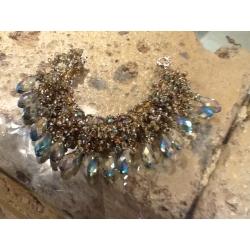 bracciale gioiello artigianale cristallo pietra oro argento bracciali gioielli artigianali artigiana orafa pietre
